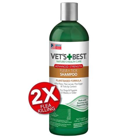 Vet's Best Advanced Strength Flea + Tick shampoo