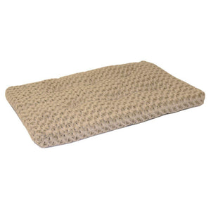 "42"" QuietTime Deluxe Ombre Swirl Taupe to Mocha Pet Bed"
