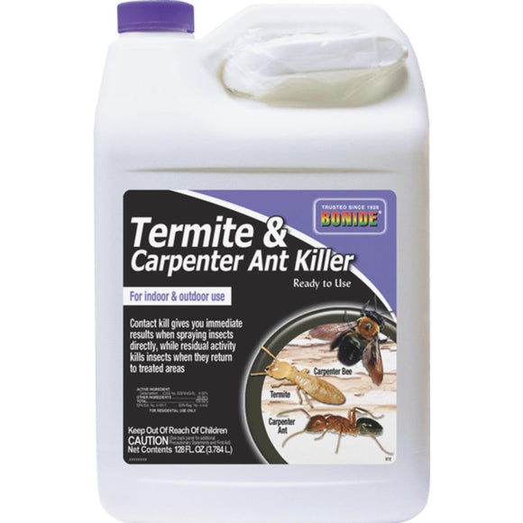 Bonide 128 Oz. Ready To Use Trigger Spray Indoor/Outdoor Termite & Carpenter Ant Killer