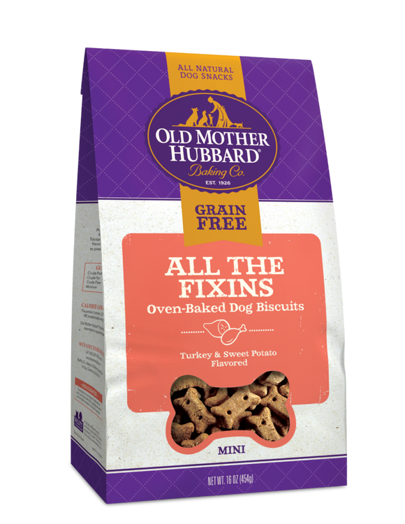 Old Mother Hubbard All The Fixins Mini Dog Biscuits