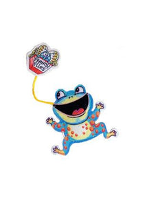 Fuzzu Frog & French Flies Cat Toy