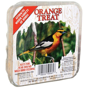 C&S ORANGE TREAT SUET