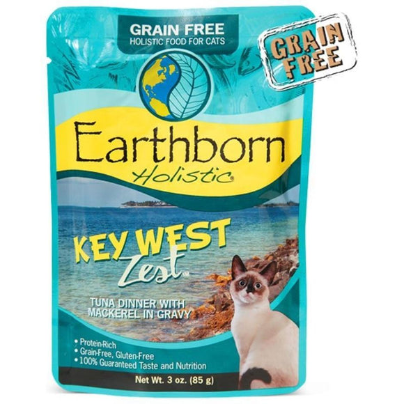 EARTHBORN HOLISTIC KEY WEST ZEST GF CAT POUCH