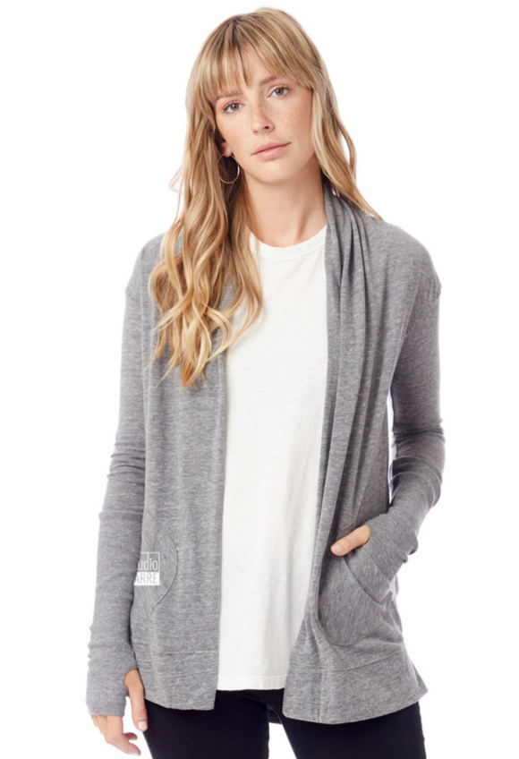 Studio Barre Gray Logo'd Wrap