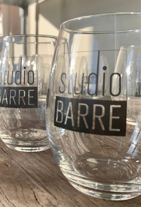 Studio Barre Stemless Wine Glass