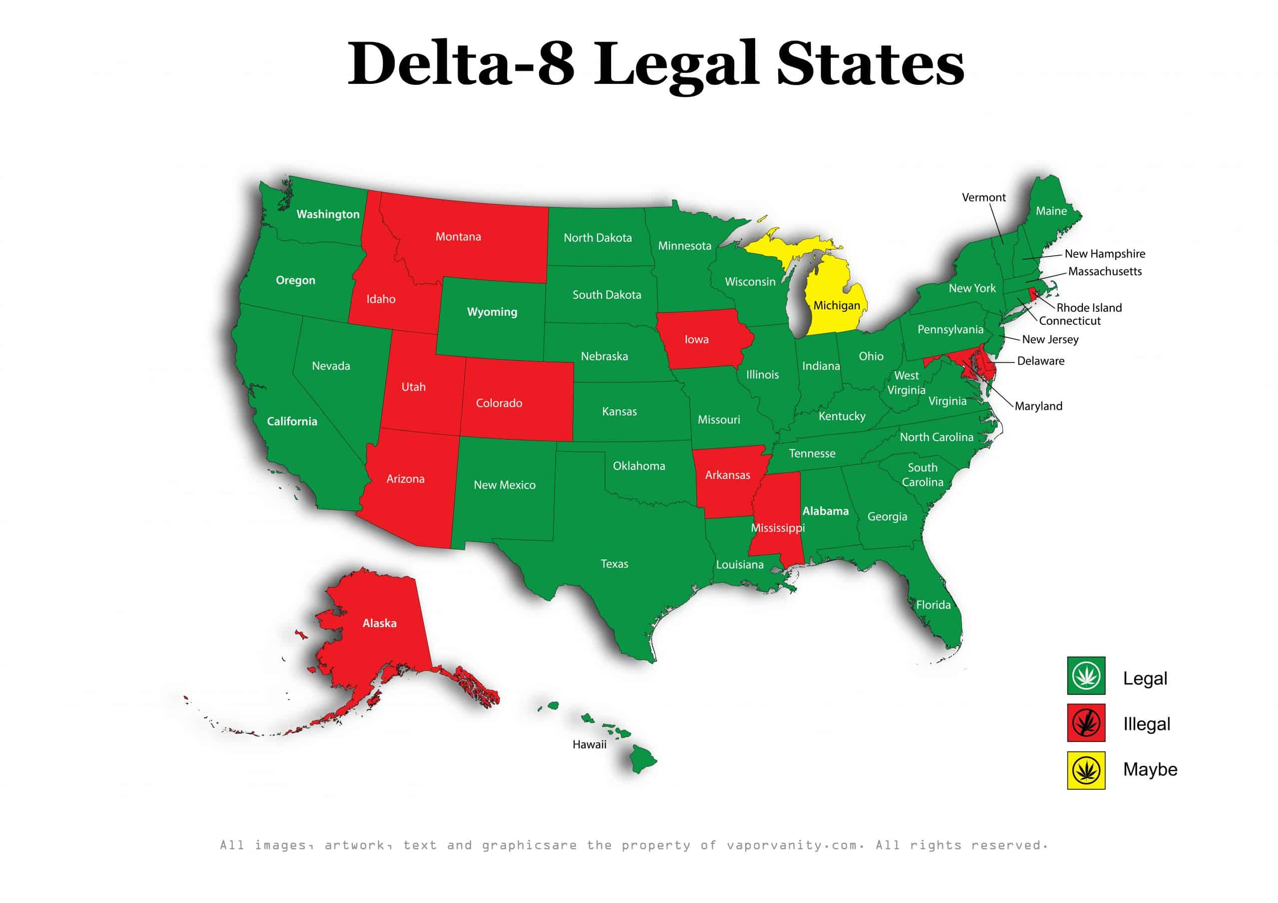 where is delta 8 legal