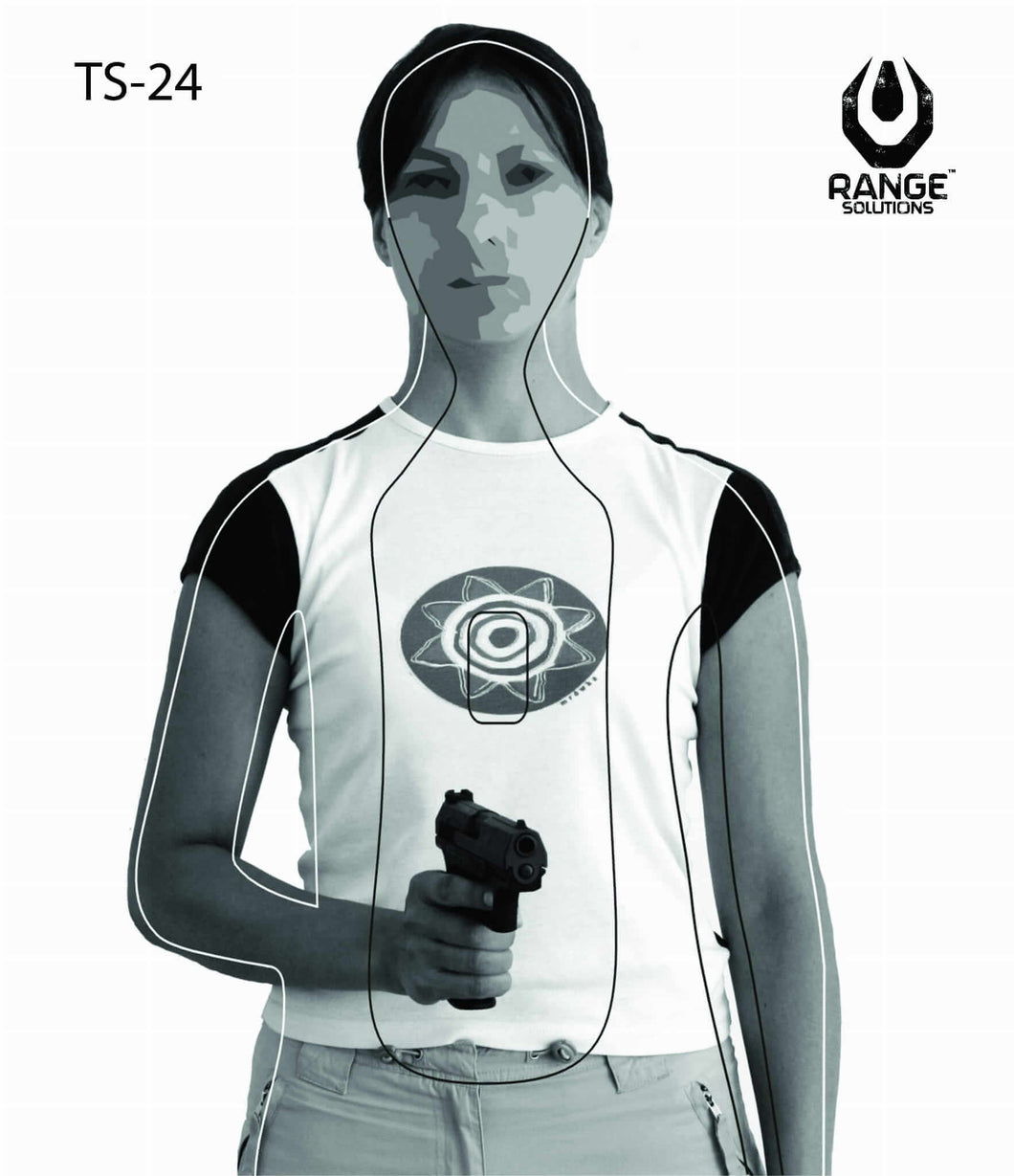 Range Solutions TS-24 targets, military and law enforcement training target