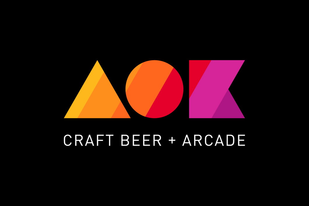 AOK Craft Beer + Arcade Gift Card