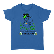 Load image into Gallery viewer, Never Underestimate An Irish Lady - Standard Women's T-shirt