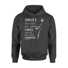 Load image into Gallery viewer, Angels With Whiskers Standard Hoodie, Gifts For Mother's Day