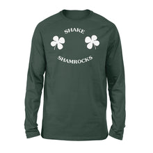 Load image into Gallery viewer, Shamrock Boob T-shirt - Standard Long Sleeve