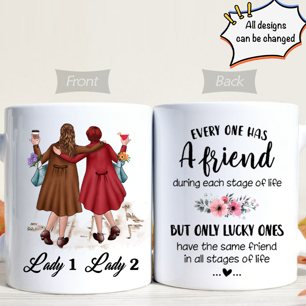 Personalized - I Can't Wait Until We're Old & Grumpy Together Ceramic White Mug, Mother's Day 2021, Gift For Mom & Grandma