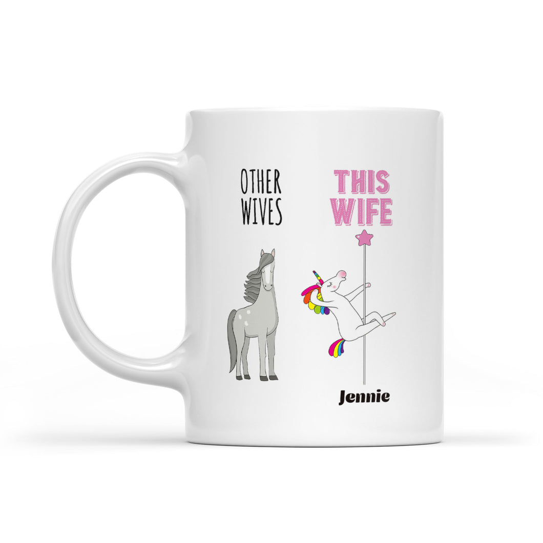 Personalized Best Wife Gift Unicorn