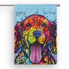 Load image into Gallery viewer, Dog is Love - House Flag