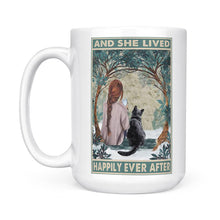 Load image into Gallery viewer, She Lived Happily Ever After - White Mug