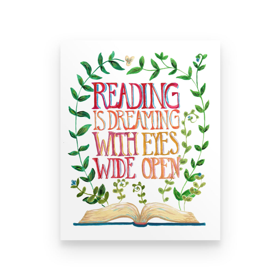 Reading Is Dreaming - Poster