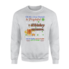 Load image into Gallery viewer, Whiskey is so delightful Standard Crew Neck Sweatshirt