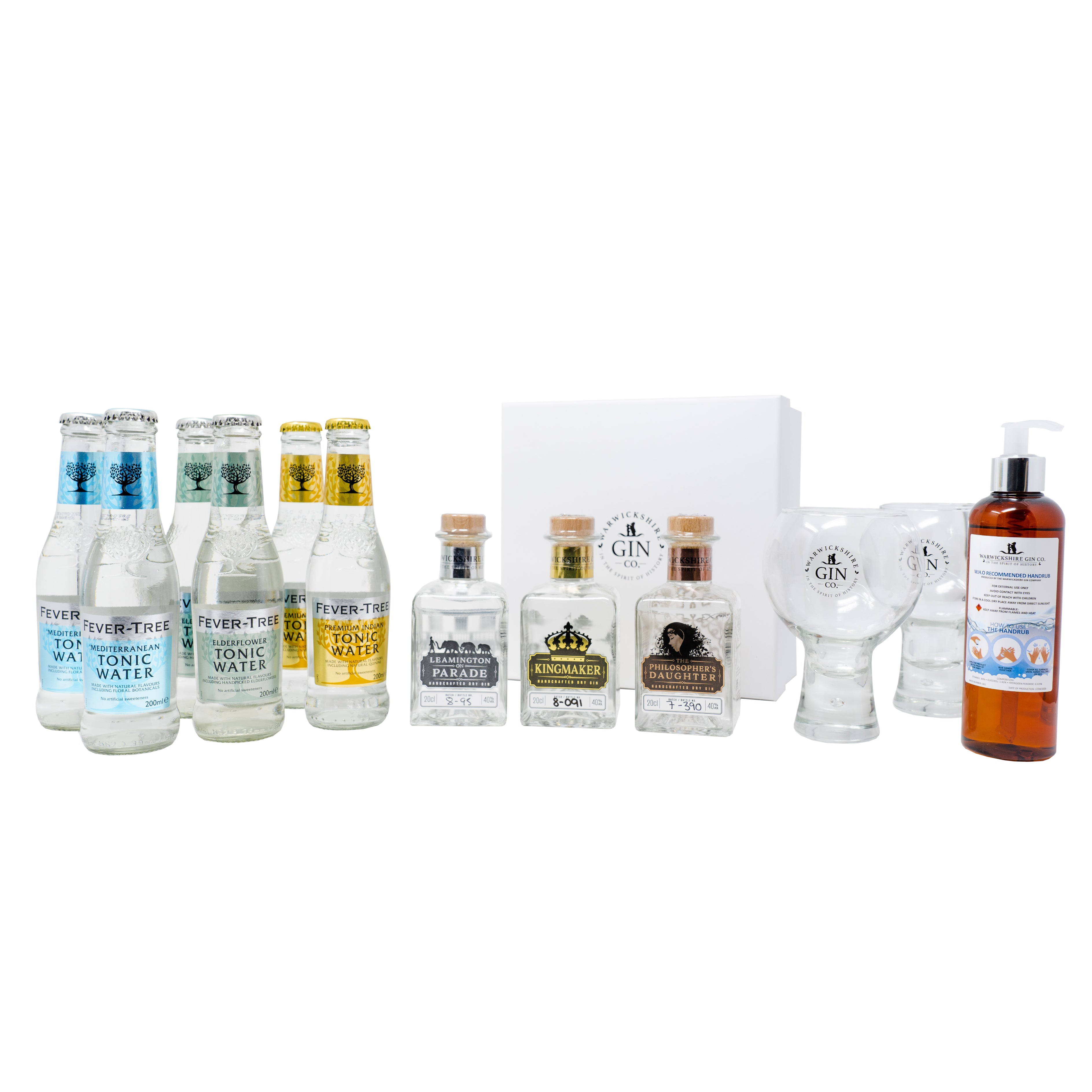 Stay safe at home G&T - Gold package
