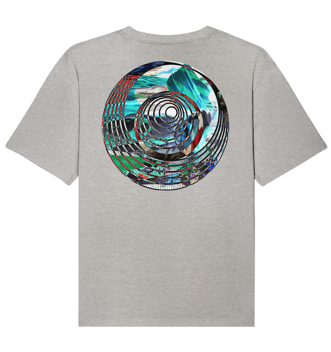 Psychedelic Circle Backprint