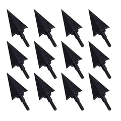 12x 115/195-grain Black Screw-in Broadheads