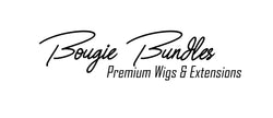 Bougie Bundles hair store logo located in Houston  and Humble Texas, Best quality hair weave wigs and hair extensions