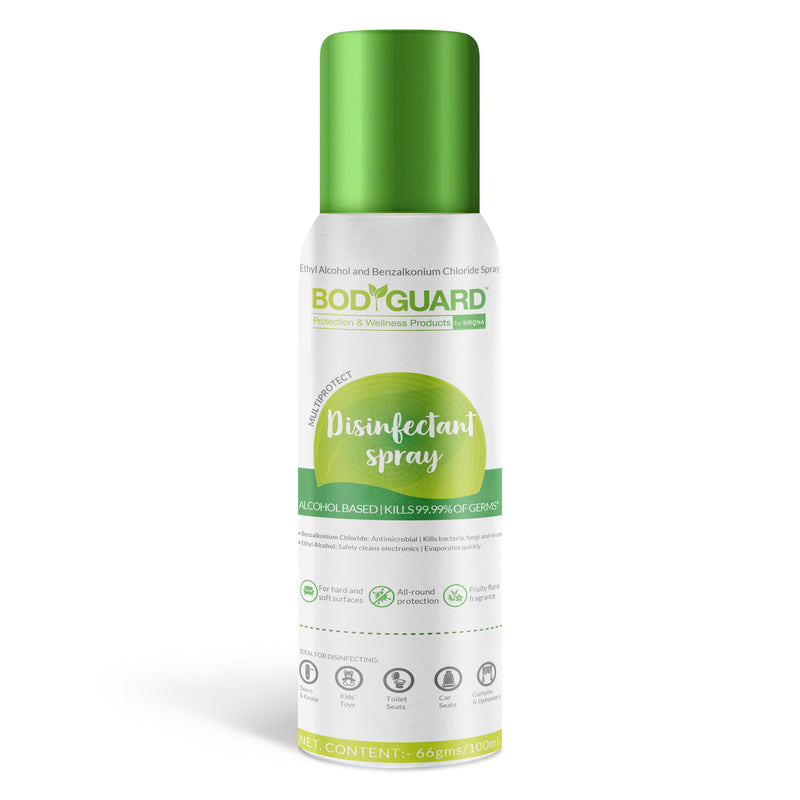BodyGuard Multipurpose Alcohol Based Disinfectant Spray
