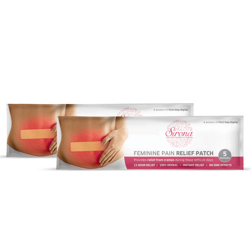 Sirona Period Pain Relief Patches - Pee Buddy