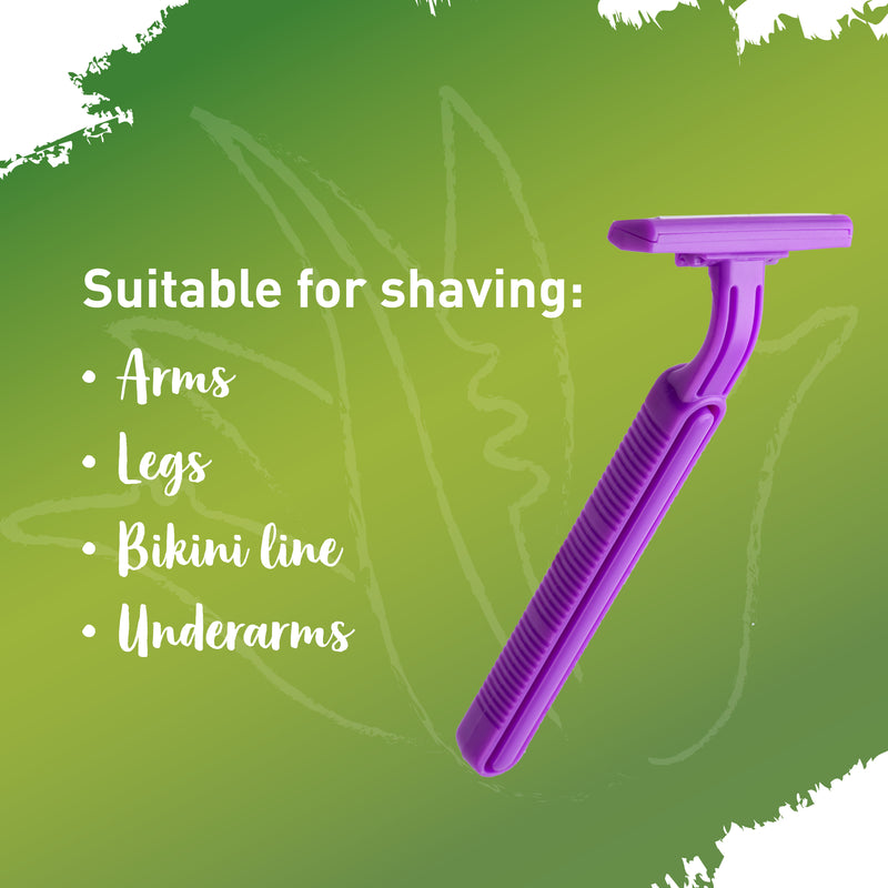 Sirona Aloe Boost Twin Blade Disposable Razor