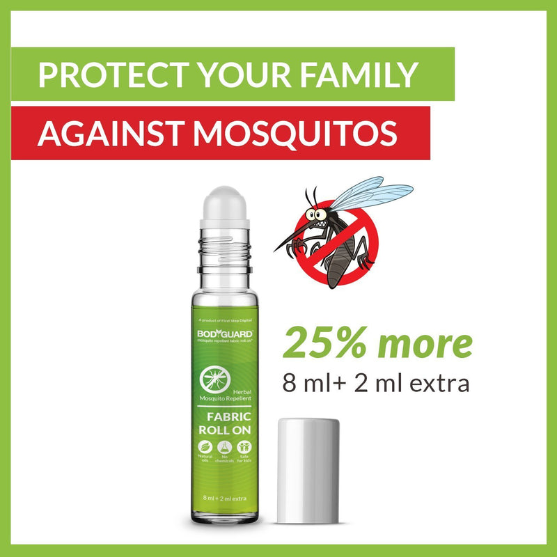 BodyGuard Fabric Mosquito Repellent Roll On - 10 ml - Pee Buddy