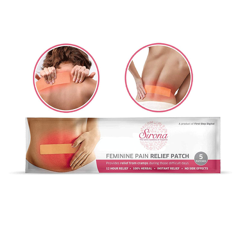 Menstrual Cup with Pain Patch