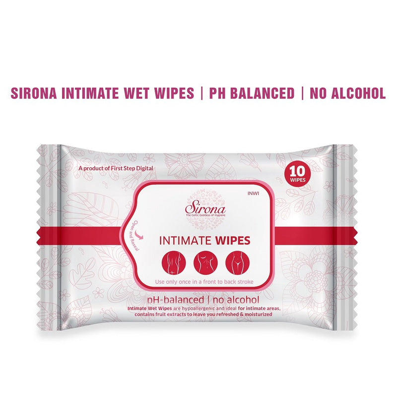 PeeBuddy Foldable Paper-Based Female Urination Device  with Sirona Intimate Wipes 10 Wipes - Pee Buddy