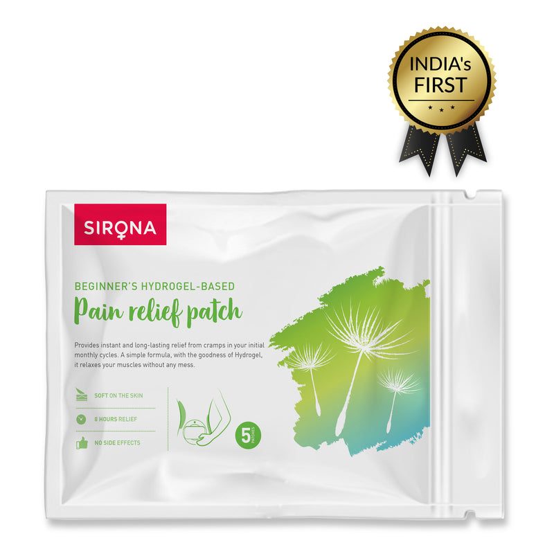 Sirona's Beginner's Hydrogel- Based Pain Relief Patch