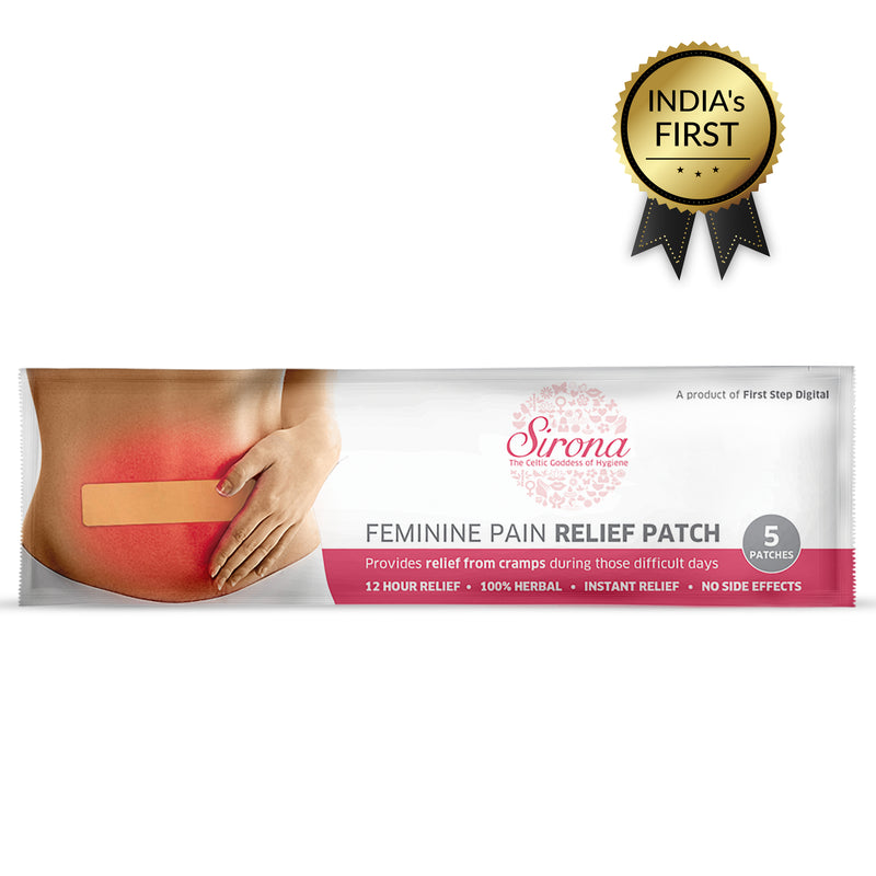 Sirona Period Pain Relief Patches