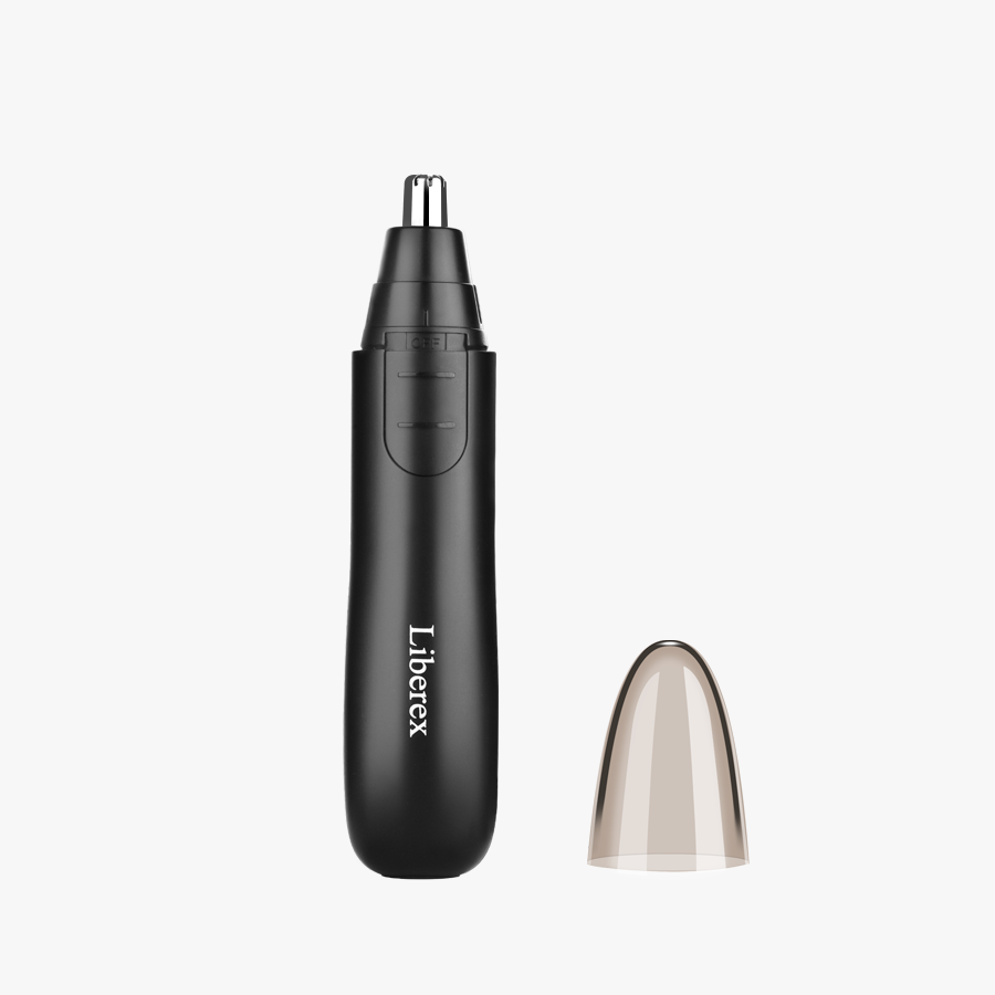 liberex electric ear nose trimmer black