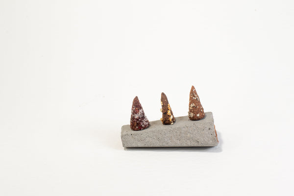 Incense Burner - Concrete