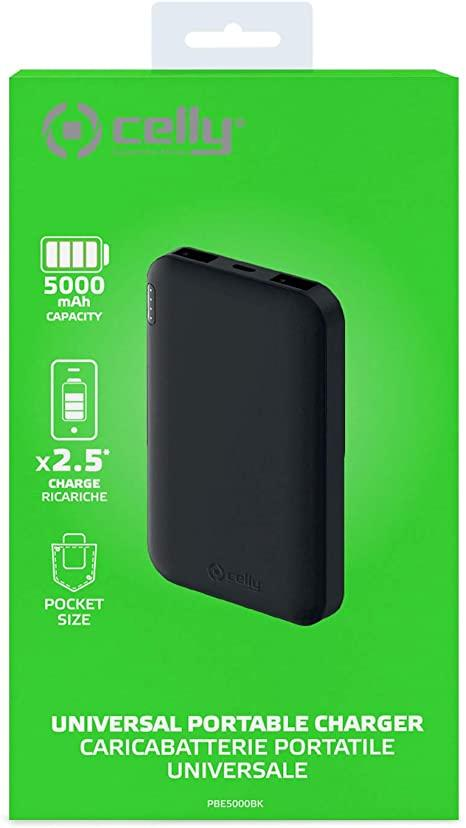 POWERBANK ENERGY 5000MAH BK