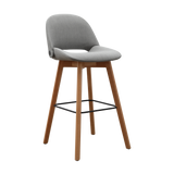 Etc. Irma Bar Stool, Upholstered