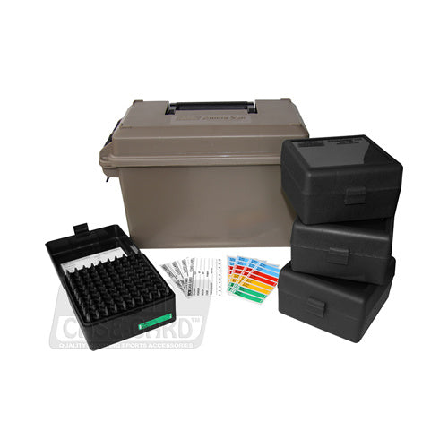 MTM ACC223 AMMO CAN WITH 4 RS-100 DK EARTH