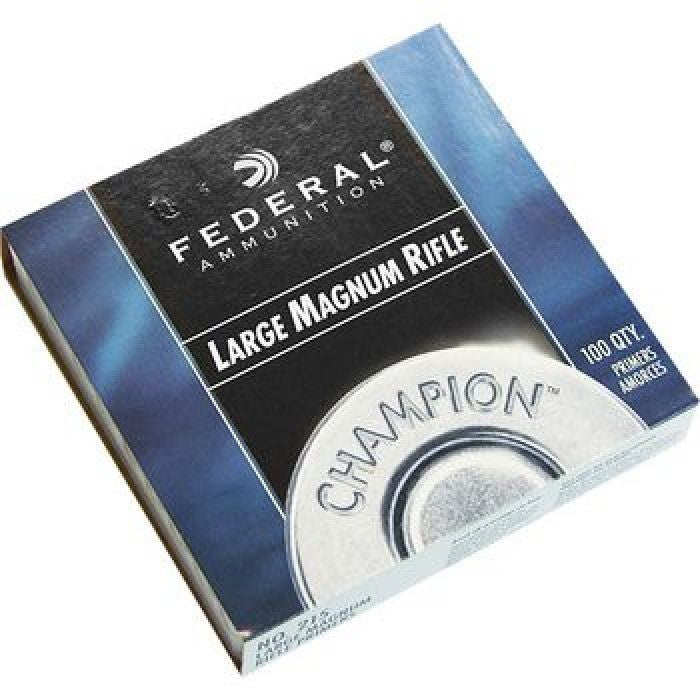 FEDERAL LARGE RIFLE MAGNUM PRIMERS NO.215 100PK