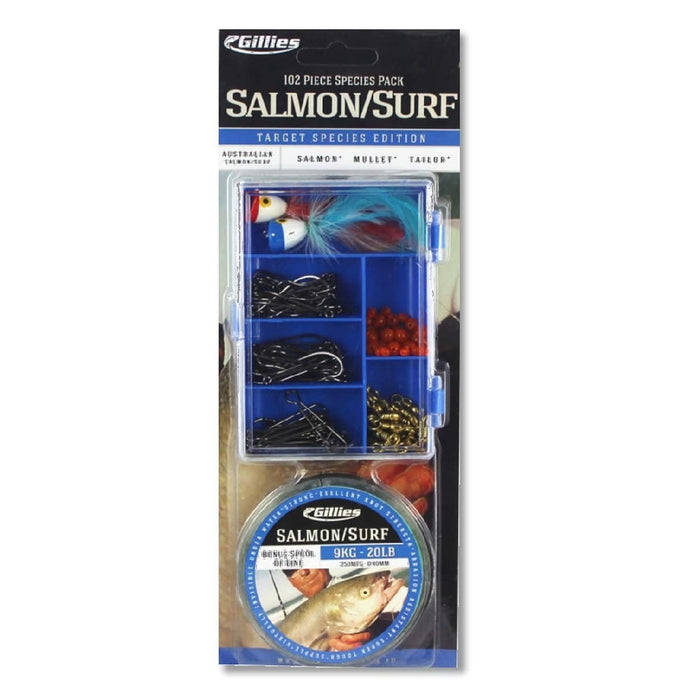 GILLIES SPECIES PACK (SALMON/SURF)