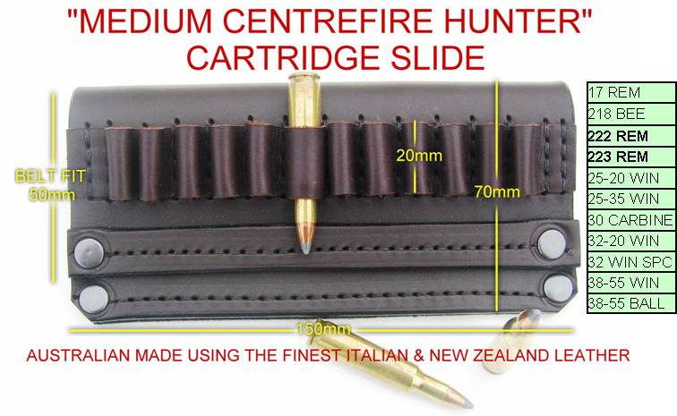 DINGO MEDIUM CENTERFIRE SLIDE