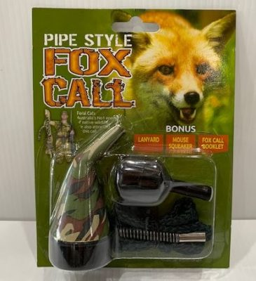PIPE STYLE FOX CALL COMBO