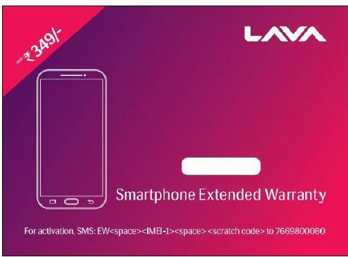 LAVA EXTENDED WARRANTY SP
