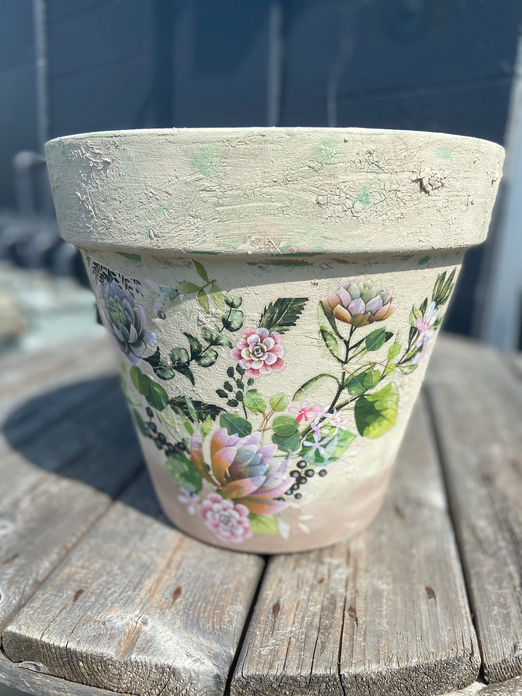 Color Me Spring Flower Pot Painting Class-Grove City