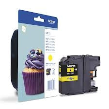 Brother LC123 Yellow Ink Cartridge (Original)
