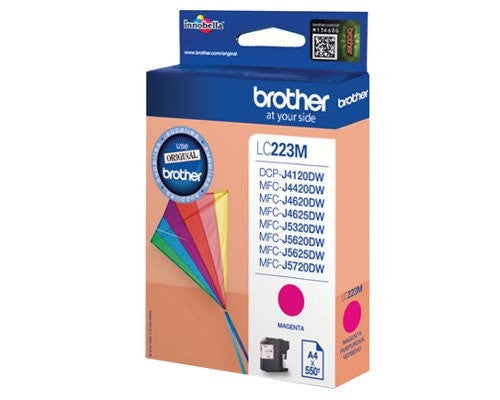Brother LC-223M Magenta Ink (Original)