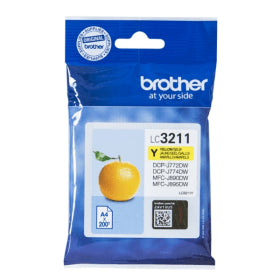 Brother LC-3211Y Original Yellow Ink