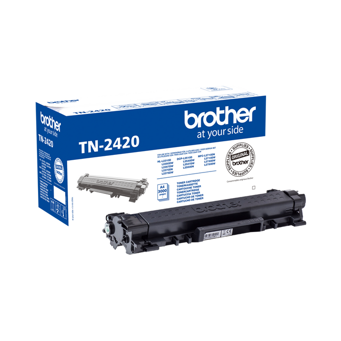 Brother TN-2420 High Capacity Black Toner (Original)