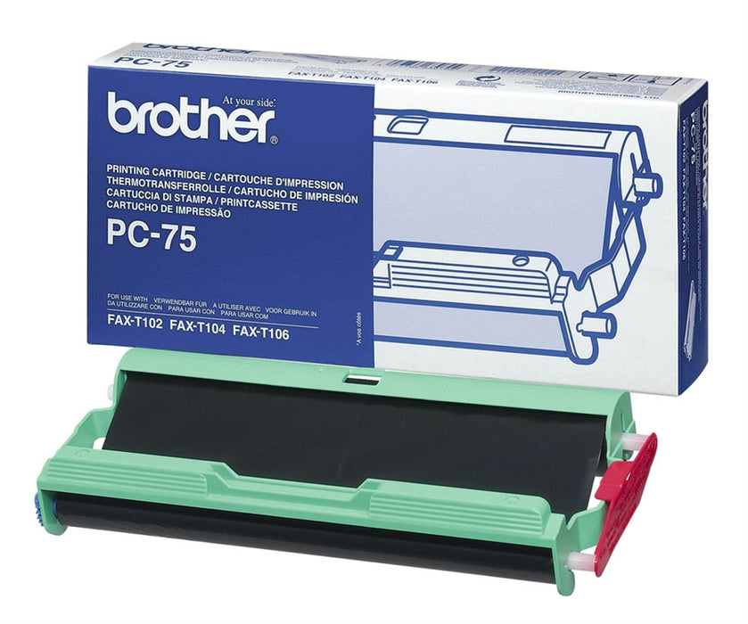 Brother PC-75 Print Roll and Cassette (PC75)