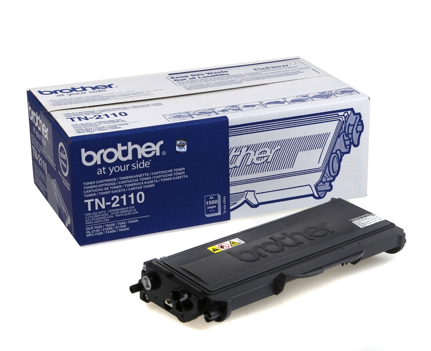 Brother TN2110 Original Black Toner